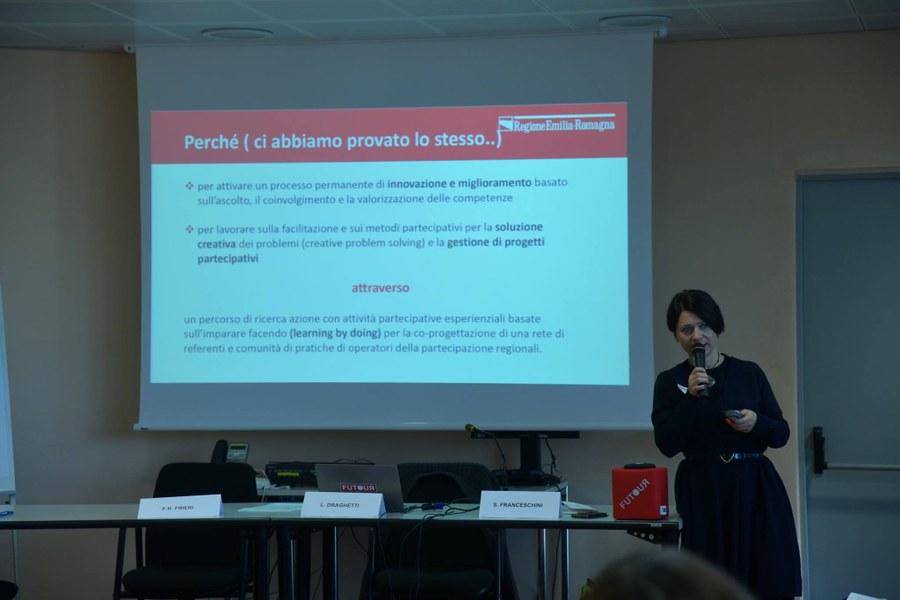 Sabrina Franceschini - Responsabile dell'Area comunicazione di cittadinanza