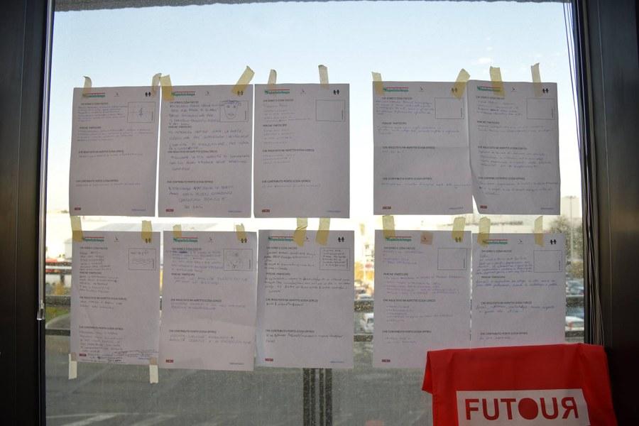 Le schede di presentazione dei partecipanti all'incontro