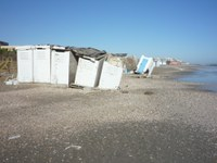 Mareggiata in Provincia di Ravenna