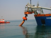 Ripascimento con sabbie sottomarine