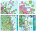 """Esempi delle mappe utilizzate nel tavolo sulle """"Soluzioni di intervento"""" per il territorio delle quattro province costiere"""