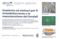 Progetto Europeo CO-EVOLVE, in funzione l'impianto di desabbiamento ad eiettori al Porto di Cattolica.