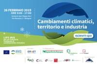 """""""Cambiamenti climatici, territorio e industria"""""""