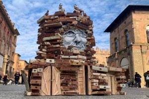 Capodanno, il Vecchione di Bologna fatto da un cantiere partecipato