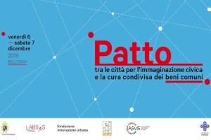 Un Patto tra le città per l'immaginazione civica e la cura condivisa dei Beni Comuni
