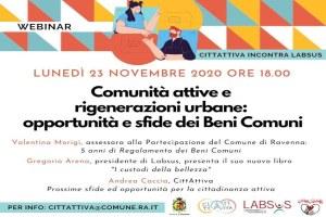 Ravenna: Un webinar online con Gregorio Arena