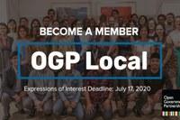 Unisciti a OGP Local entro il 17 luglio, 50 posizioni disponibili