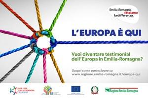Vuoi diventare testimonial dell'Europa in Emilia-Romagna?