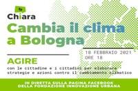 """""""Chiara, cambia il clima a Bologna"""""""