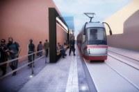 Bologna: Tram linea verde, verso Corticella