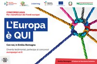 """Concorso 2021 """"L'Europa è QUI"""": incontro online"""