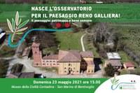 Nasce l'Osservatorio locale per il paesaggio Reno Galliera