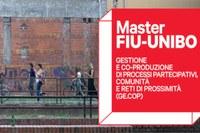 Seconda edizione del Master Fondazione per l'Innovazione Urbana-UNIBO