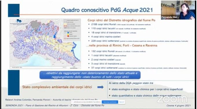 2°ciclo del PGRA – Autorità di bacino del fiume Po –  Fernanda Moroni