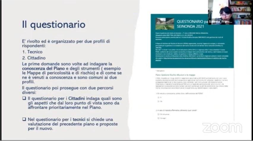 SEINONDA 2021: il questionario  Sabrina Franceschini