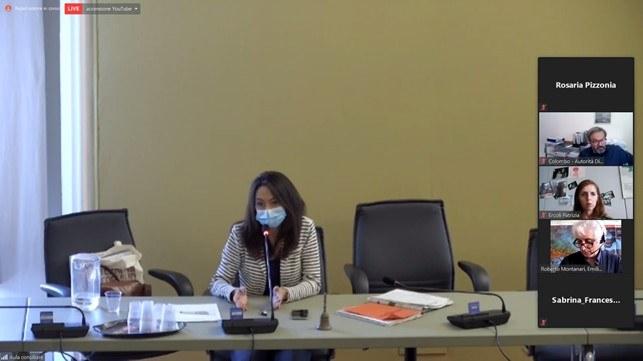 Interventi e domande dei partecipanti - Conclusioni e prospettive Irene Priolo (in videoconferenza zoom)