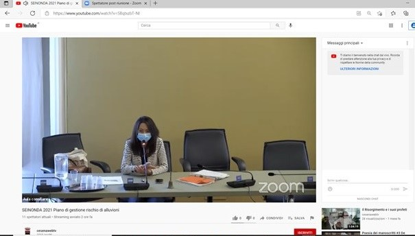 Interventi e domande dei partecipanti Conclusioni e prospettive Irene Priolo (in diretta streaming YouTube)