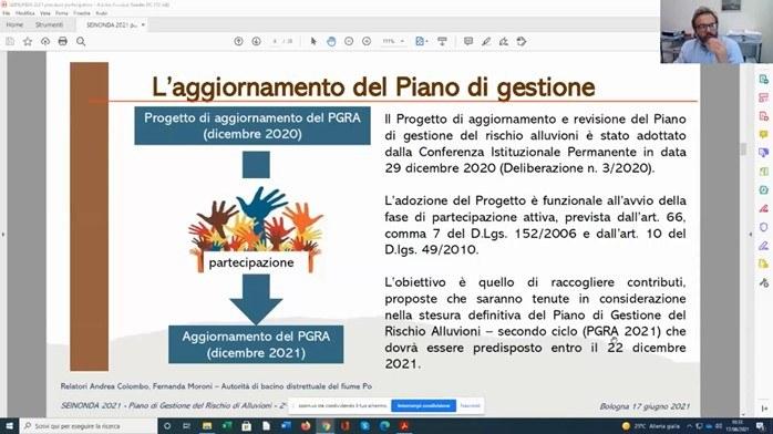 aggiornamento PGRA - Andrea Colombo AdB Po