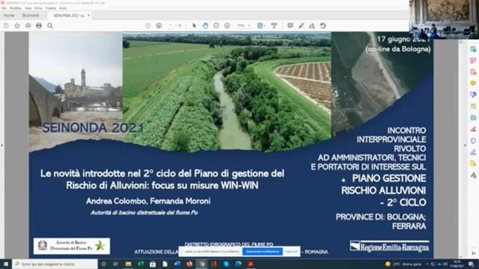2° ciclo del Piano di Gestione del Rischio di Alluvioni