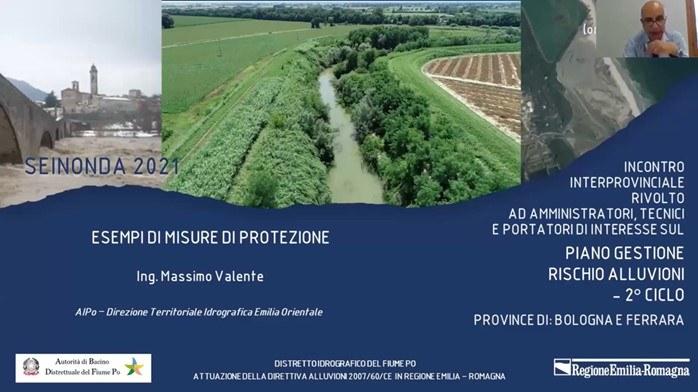 Esempi di Misure di protezione: Il Po Ferrarese - Massimo Valente – AIPO
