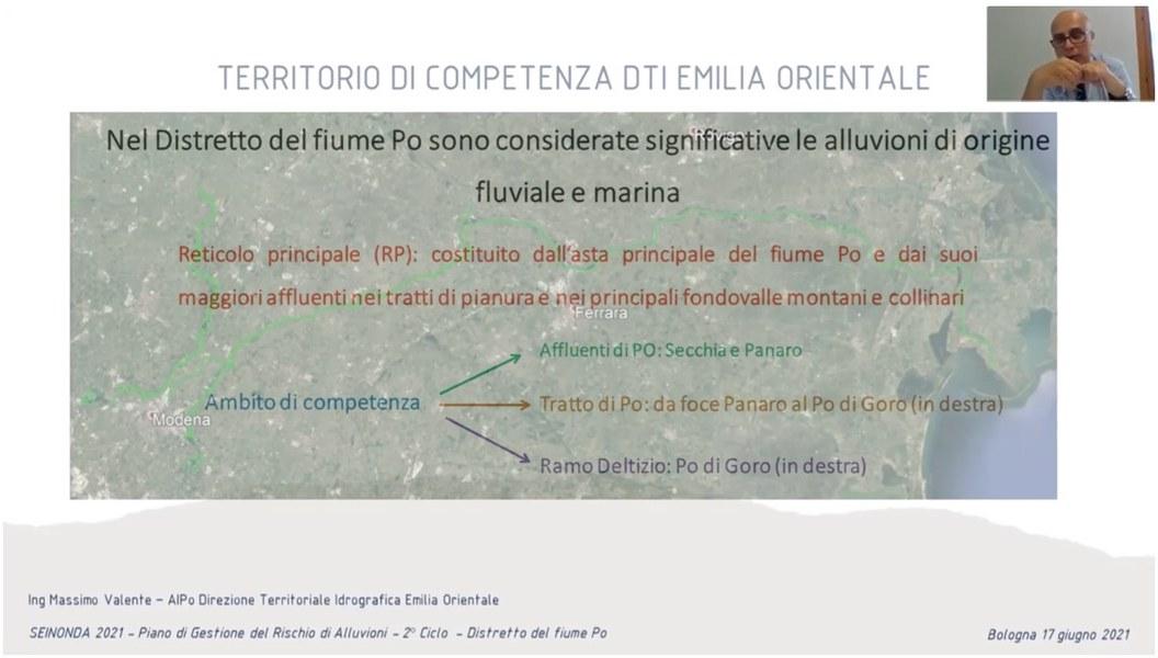 AIPO Misure di protezione: Il Po Ferrarese Massimo Valente