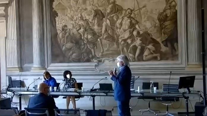 Interventi e domande: Lorenzo Pellegatti Sindaco San Giovanni Persiceto
