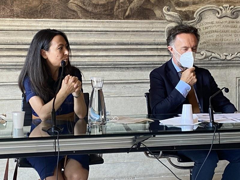 Saluti istituzionali e introduzione ai lavori - Irene Priolo - Assessore Ambiente, difesa del suolo e della costa, protezione civile