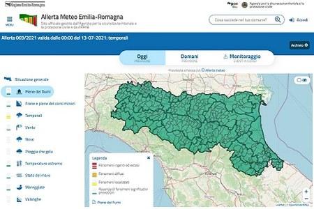 Cosa fare in caso di alluvioni? Nel portale Allerta Meteo ER informazioni chiare e tempestive in caso di eventi meteo di particolare intensità