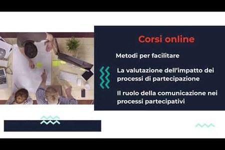 Formazione per la Partecipazione: i corsi online